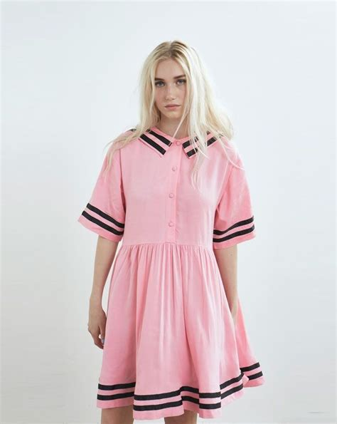 Robot Pin From Lazy Oaf by Lazy Oaf Pink Introvert Dress Clothing New In Womens