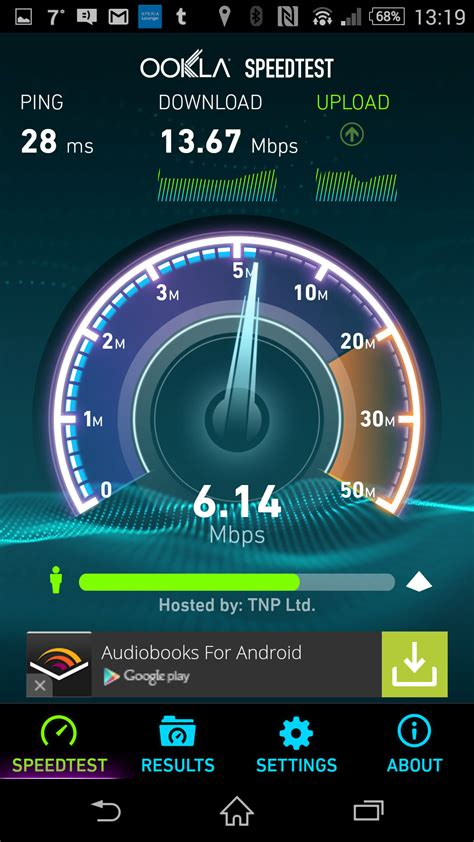 speed test net consistant results speedtest net