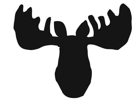 moose template moose pumpkin stencil bane pumpkins
