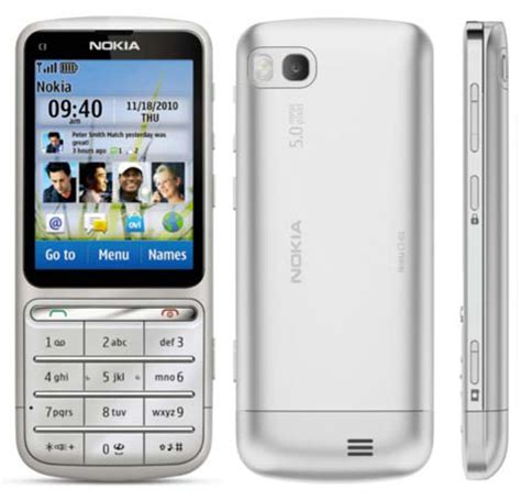 Layar Lcd Hp Nokia C3 Nokia C3 01 Touch And Type Phone Photo Gallery Official Photos