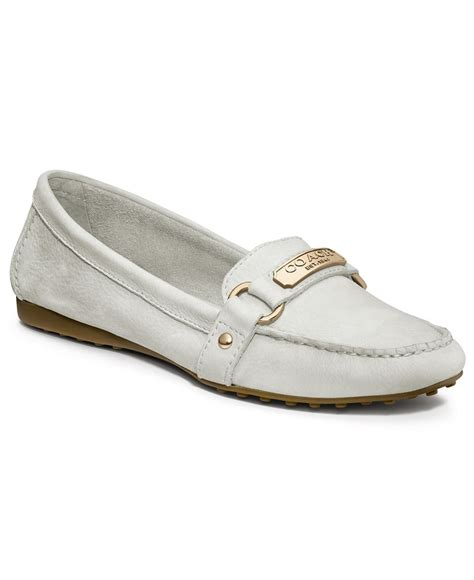 loafers for style coach felisha loafer style flats loafers