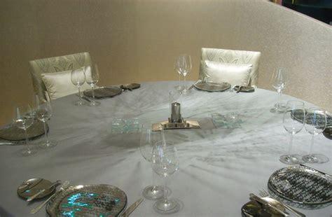 Glasses Table Setting Blue Dinnerware Table Setting Belon Banyan Tree Macau
