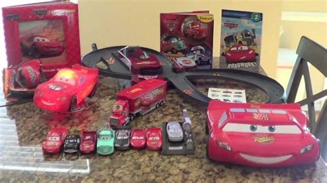 shop for a disney cars lightning mcqueen7 pc bedroom at rooms to go disney cars lot cars laptop diecast cars racetrack and a