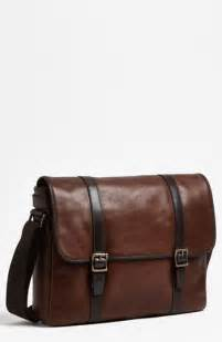 Fossil Estate Messenger Darkbrown Leather Tas Fossil Original Cro fossil estate leather messenger bag brown one size where to buy how to wear