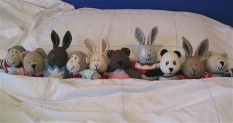 10 in the bed little cotton rabbits ten in the bed