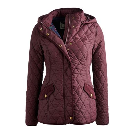 Hooded Quilted Coats Outerwear by Joules S Marcotte Jacket Joules Hooded Quilted Coat