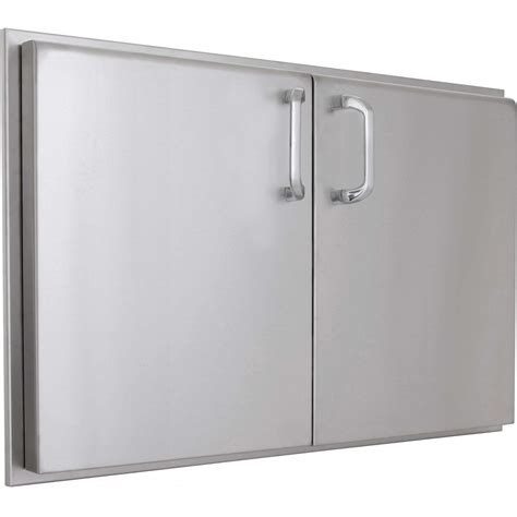 Stainless Steel Bbq Doors by Bbqguys Kingston Raised Series 48 X 19 Inch Stainless