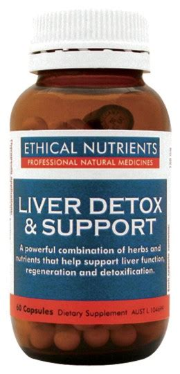 Liver Detox Supplements Nz by Buy Ethical Nutrients Liver Detox Support Tablets 30 At