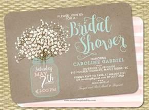 jar bridal shower invitations templates printable bridal shower invitations free premium templates