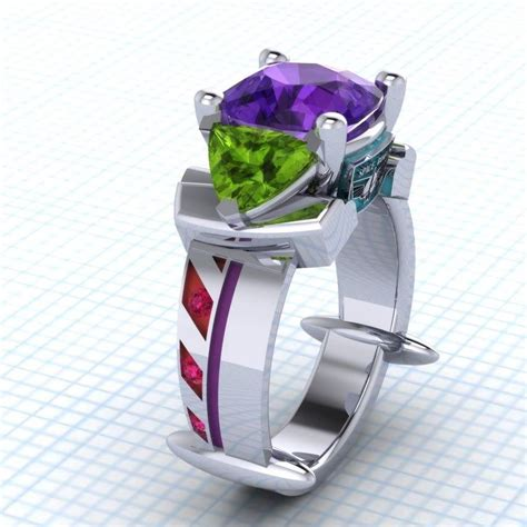 Story Rings buzz lightyear inspired ring by paul michael design http