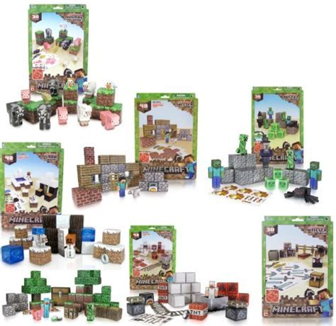 Minecraft Papercraft Sets - paper craft new 833 papercraft minecraft all sets