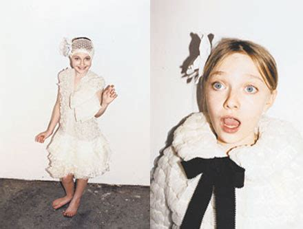 Marc Marc New Muse Miss Dakota Fanning marc new muse miss dakota fanning