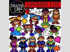 Superhero Clipart KIDS {Creative Clips Clipart}   TpT Free Clipart For Teachers Pay Teachers