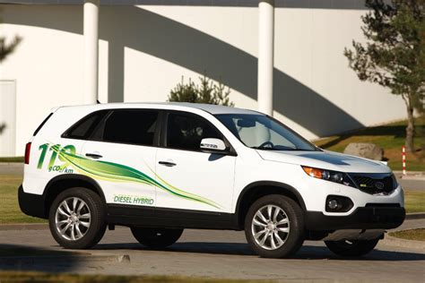 Kia Diesel Hybrid Frankfurt Auto Show Kia Sorento Diesel Hybrid Concept