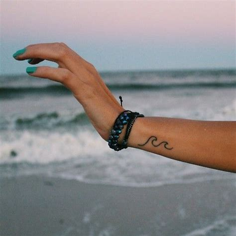 tattoo wave simple pinterest the world s catalog of ideas