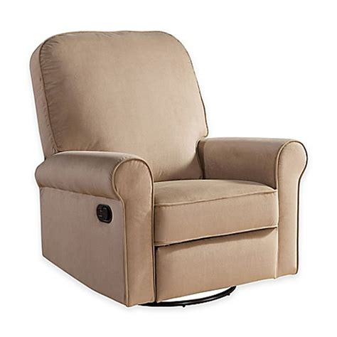 recliners for baby nursery abbyson living 174 penelope nursery swivel glider recliner