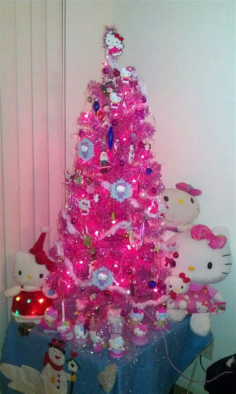 hello kitty tree i see this as being a mini tree set up