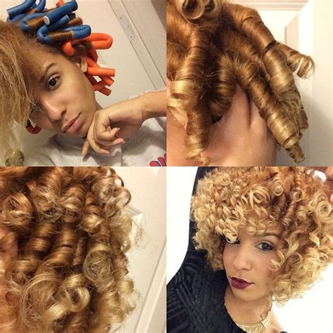 aleeping in petm rods video flexi rod tutorial on transitioning or relaxed hair