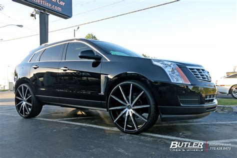 Cadillac Custom Wheels by Cadillac Srx Custom Wheels Lexani Css15 26x Et Tire