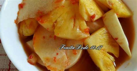 resep asinan buah oleh fenita  cookpad