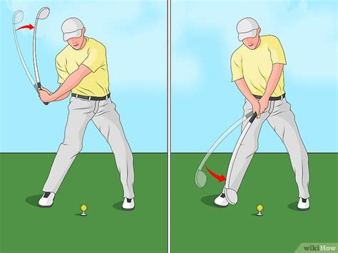 how to swing a golf club 4 232 res de faire un swing au golf wikihow