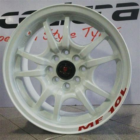 Velk Racing Ring 15 Inc Lebar 6 5 Rata velg mobil ring 15 mf10l pcd 4 215 100 114 lebar 6 5 et 38 white flash auto modified