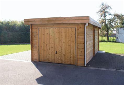 garage construction bois construction garage et abris de jardins en bois abris