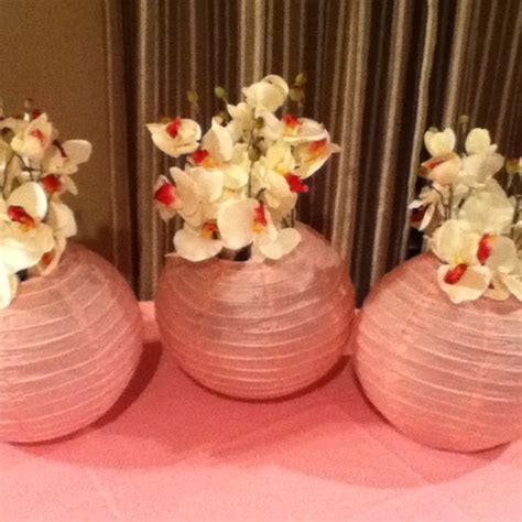 How To Make Paper Lantern Centerpieces - paper lanterns as centerpieces centerpiece wreaths