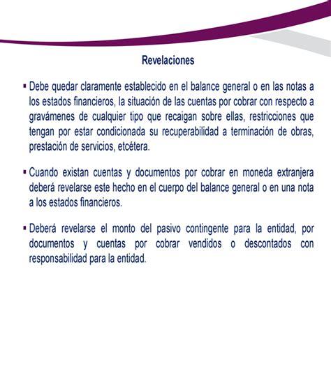 las cuentas y los norma de informaci 243 n financiera c 3 cuentas por cobrar monografias com