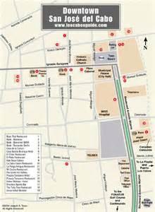 Downtown San Jose Map by Downtown San Jose Del Cabo Map