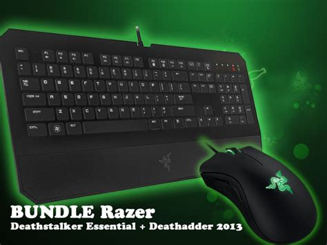 Mouse Dan Keyboard Razer paket razer gaming gear dextmall