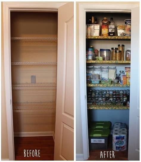 fabric shelf covers  organized pantry