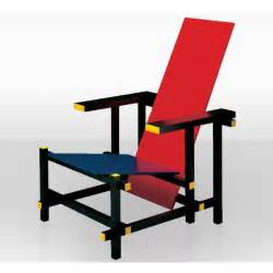 and blue chair 424 gerrit rietveld 1918 bauhaus