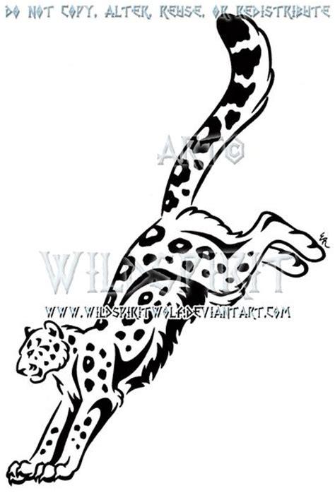 tribal leopard design 28 tribal leopard tattoos designs