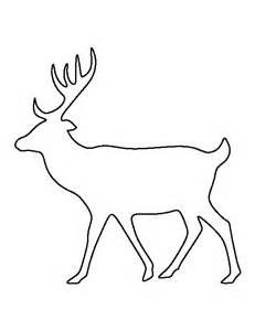 Deer Template by 25 Best Ideas About Deer Pattern On Crochet