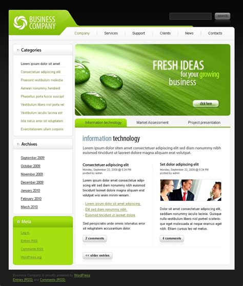 business wordpress theme 26805
