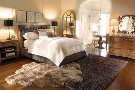 eclectic bedroom furniture devereaux bed eclectic bedroom cleveland by arhaus