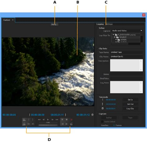 adobe premiere pro dv or hdv capturing and digitizing footage in premiere pro