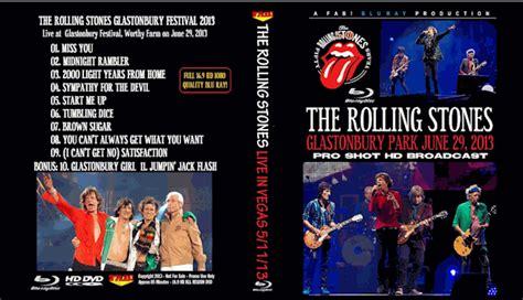 rolling stones blu ray dvd glastonbury festival