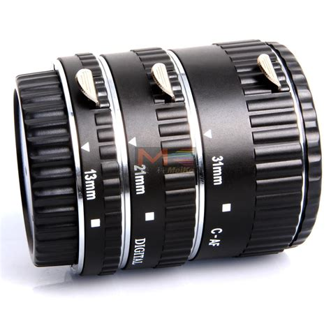 Extention Canon meike mk c af a metal af macro extension set for canon eos meike store