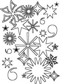 coloring amp activity pages fireworks coloring page