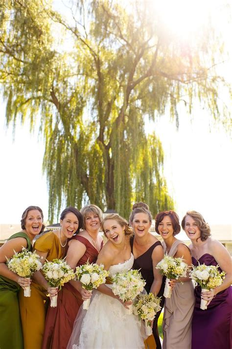 7 Ideas For A Fall Wedding by 7 Best Bridesmaid Color Ideas For A Fall Wedding Images On