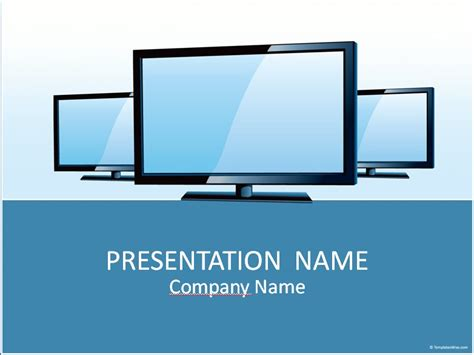 Powerpoint Vorlagen Zum Herunterladen Tv Powerpoint Template