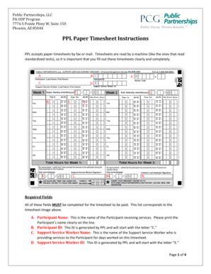 ppl printable time sheets w2 public partnership fill online printable fillable