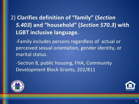 hud or section 8 kenneth carroll hud lgbt rule
