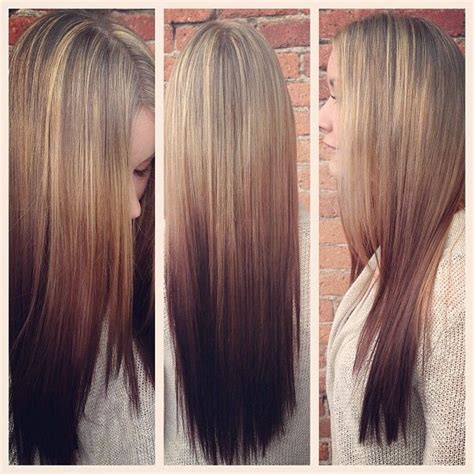 reverse ombre at home for processed blonde hair best 20 reverse ombre ideas on pinterest