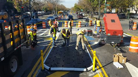 rubber st city on the eastern parkway gets removable rubber