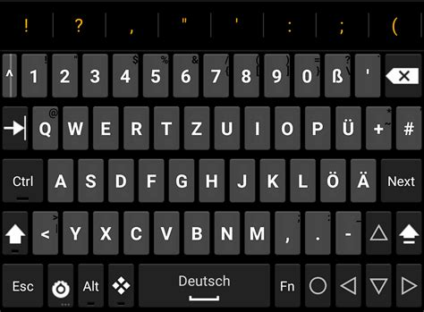 keyboard for android hacker s keyboard for android ghacks tech news
