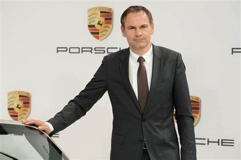 Oliver Blume Porsche by Oliver Blume Is The New Porsche Ceo