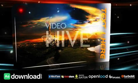 design after effect projects magic river after effects project videohive free
